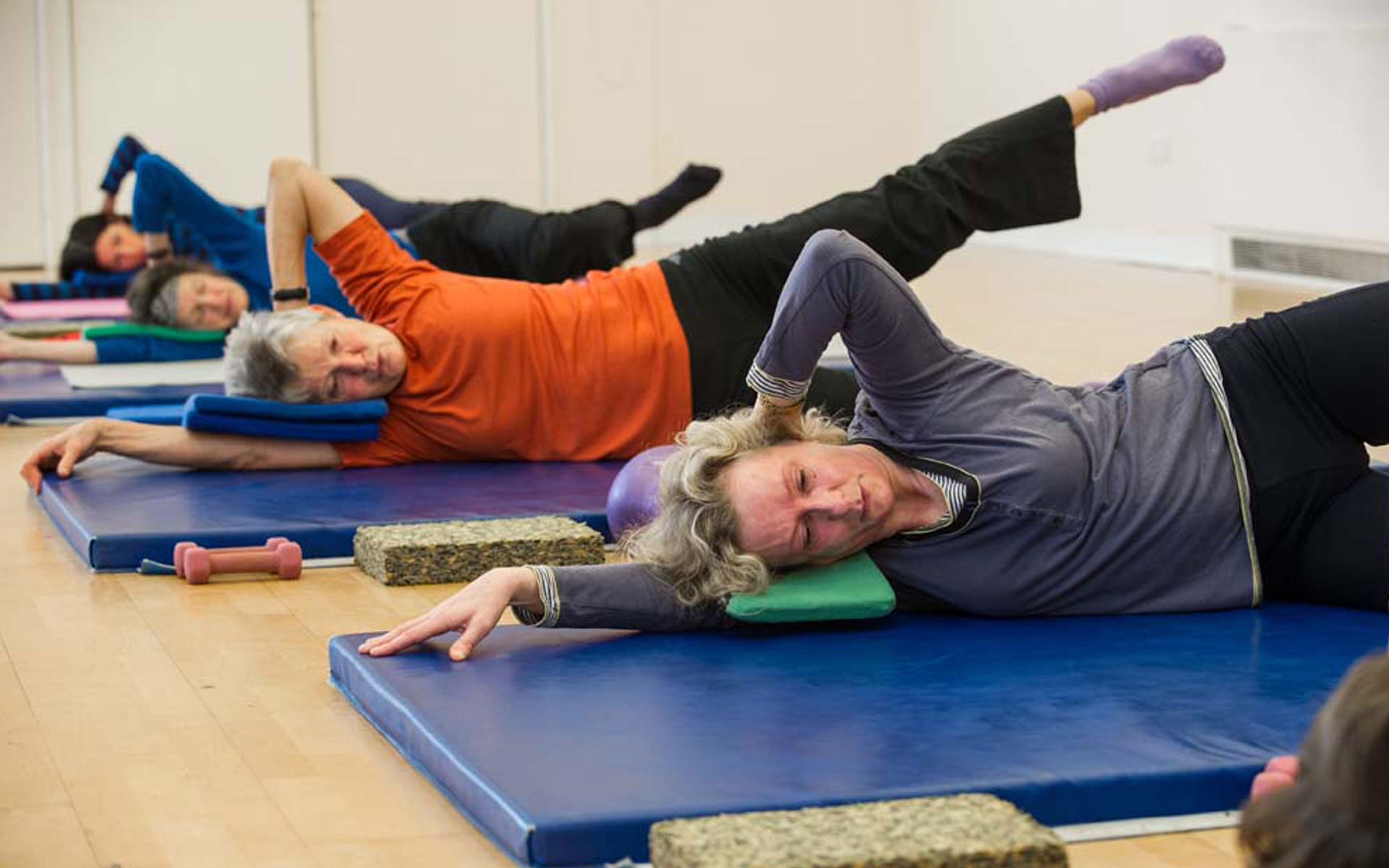 Jesmond Pool Pilates Class